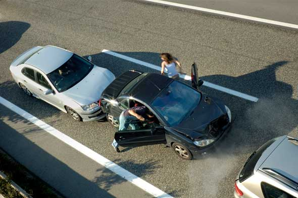 Car chain accidents