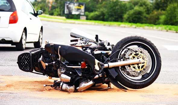 motorcycle road accident