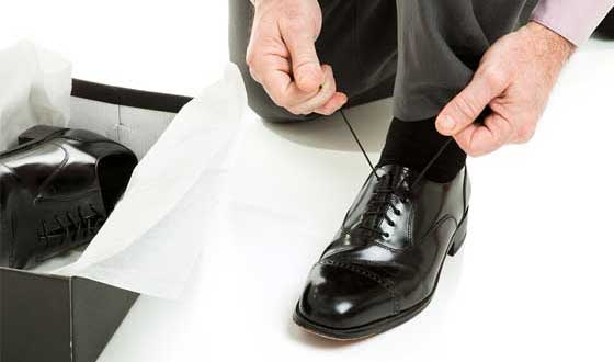 New pair shoes