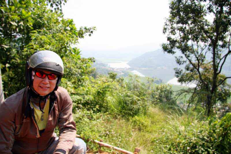 Andy Ng Road Biking In Vietnam