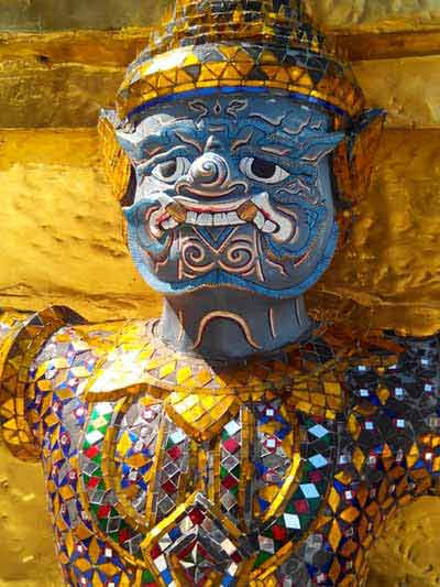 Guardian Deity at Grand Palace, Bangkok
