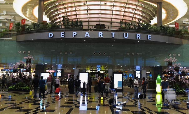 Singapore Changi Airport - Voted Best In The World!