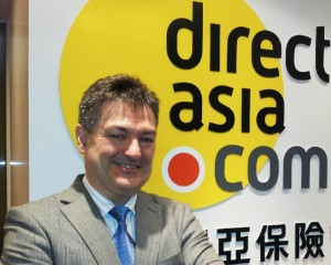 Jean Marc at opening of DirectAsia.com Hong Kong office