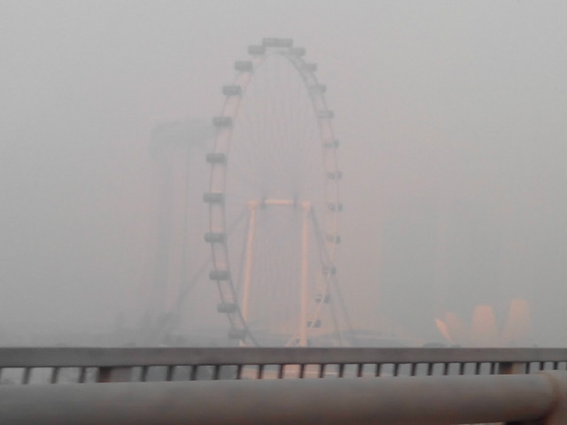 during the haze 20june