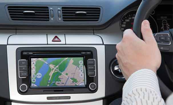 in-car driving monitoring device