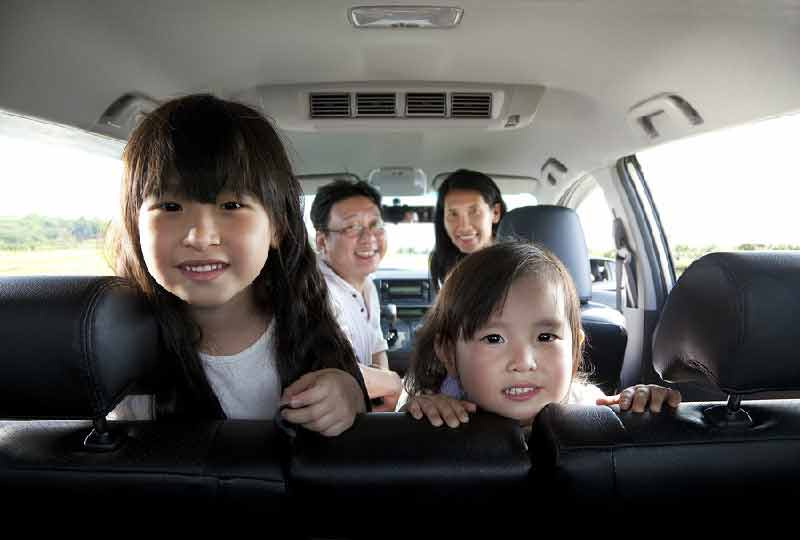 family who drive less pay less on car insurance