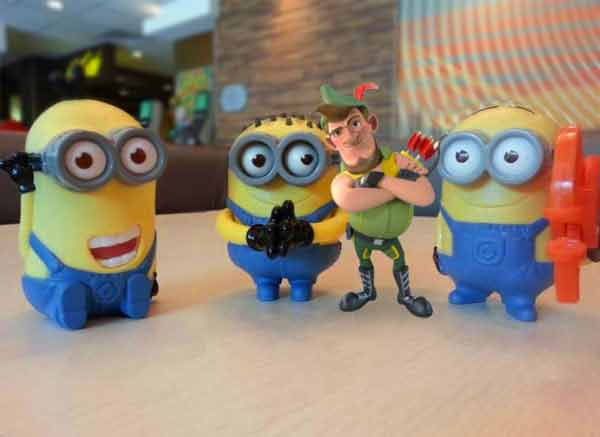 Robin Hood with Minions