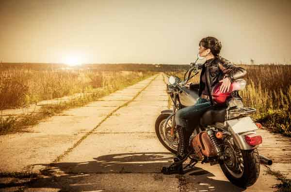 motorcycle is gaining popularity amongst female riders