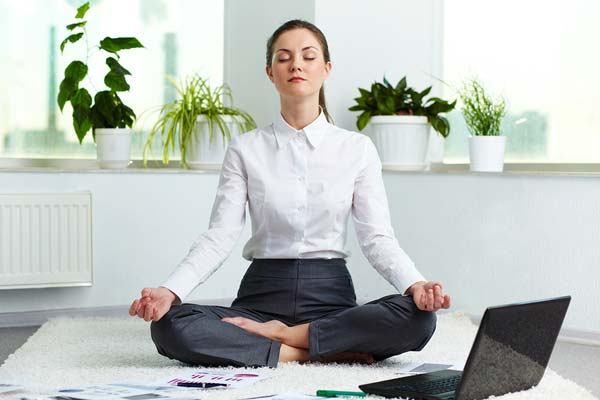 yoga for stress free solution