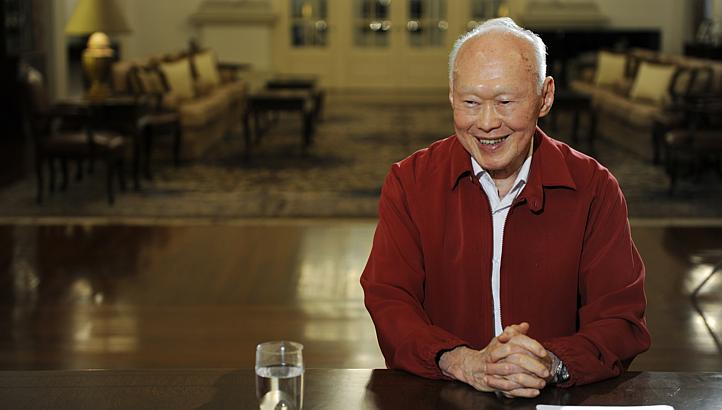 lee kuan yew turns 90
