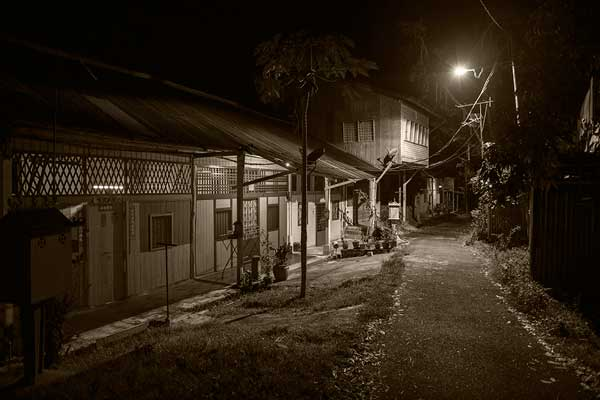 night shoot sungei lembing