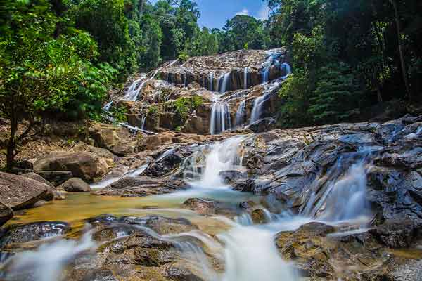 panching waterfalls
