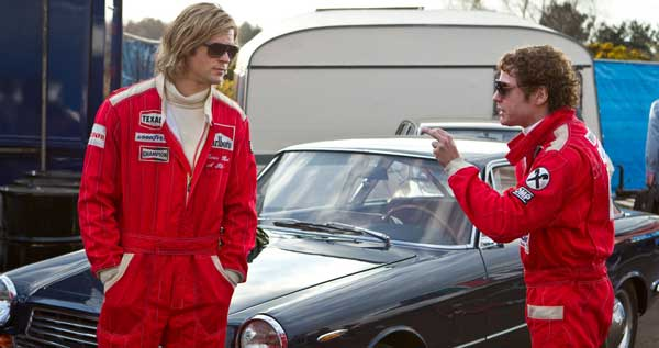 Hunt and Lauda in Rush