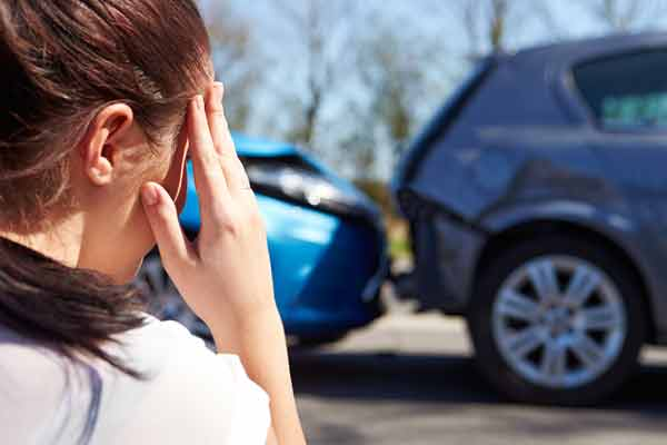 Car Accident Causes Stress