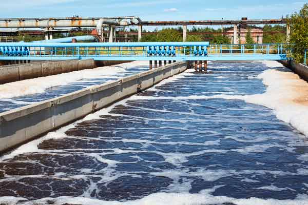 Singapore's water recycling treatment tank