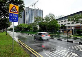 Singapore School Crossing