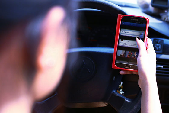 Driving with Mobile Device