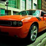 Hemi Orange Dodge Challenger RT