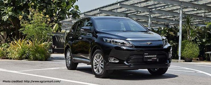 Toyota Harrier 2 0 Luxury Or A Cheap Date Directasia Insurance
