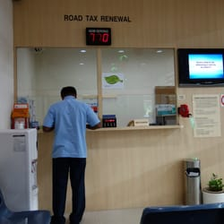 Road Tax Renewal Counter