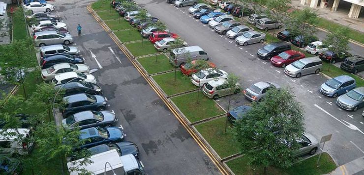 Surface HDB Carpark