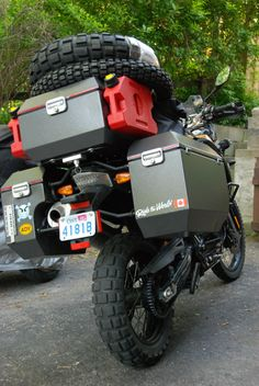 Hard Case Motorcycle