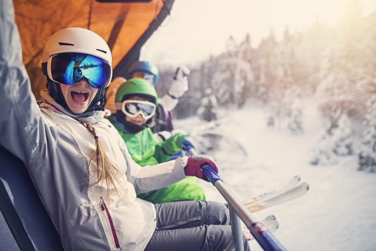 Here's How you can Schedule a Winter Trip Every Quarter of the Year