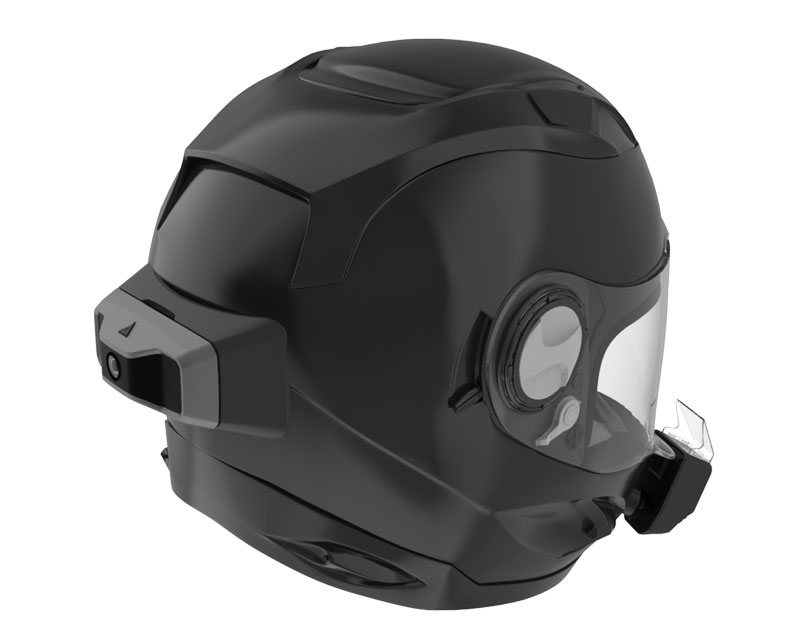 Argon smart motorcycle helmet