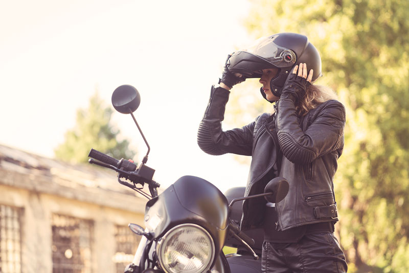 Ever heard of a smart motorcycle helmet?