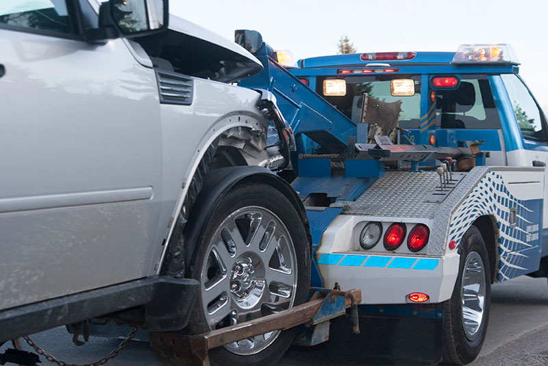 How much is it to tow a car from a highway?